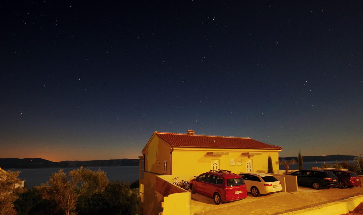 Sternenhimmel Istrien Meer