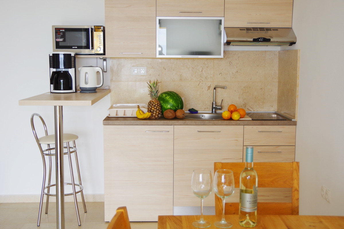Appartement Ferienwohnung S2 Küche