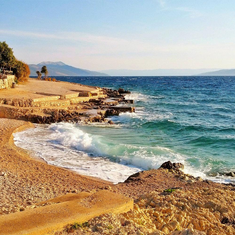 Strand Istrien Meer